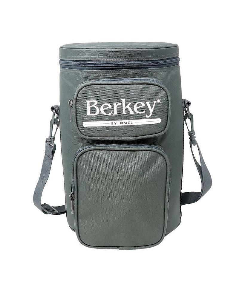 SACOCHE GRISE POUR TRAVEL BERKEY : Avec son rangement pour les filtres Black Berkey (Réf. : BERKEYTRAVELTOTEGRY).
