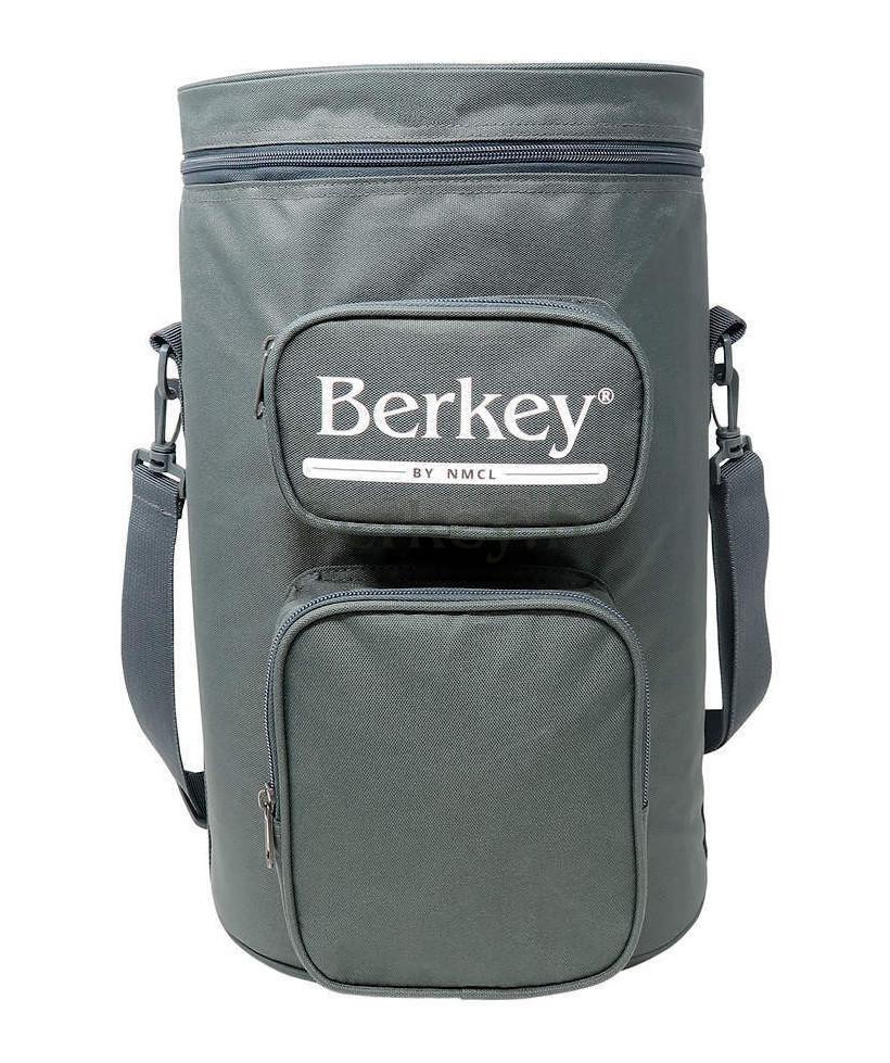 SACOCHE GRISE POUR ROYAL BERKEY : Avec son rangement pour les filtres Black Berkey (Réf. : BERKEYROYALTOTEGRY).