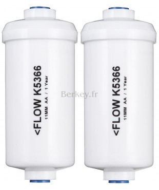 PF-2 : Paire de post-filtres optionnels pour Fluor, Arsenic et ions de métaux lourds