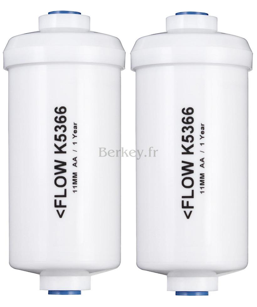 PF-2 : Filtres optionnels Berkey pour traiter le fluor, l'arsenic et les ions de métaux lourds (Réf. : PF-2) (vendus par paire).