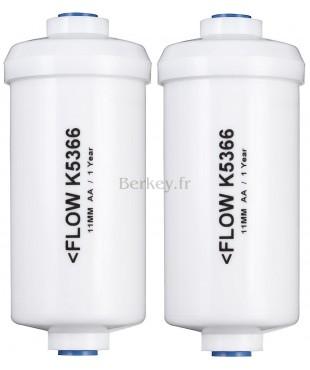PF-2 : Paire de post-filtres optionnels pour Fluor, Arsenic et ions de métaux lourds (Réf. : PF-2).