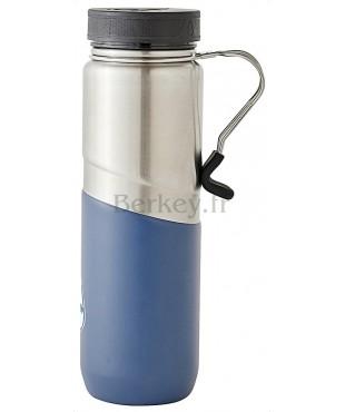GOURDE ISOTHERME EN INOX - 0,76 litres : Couleur bleue