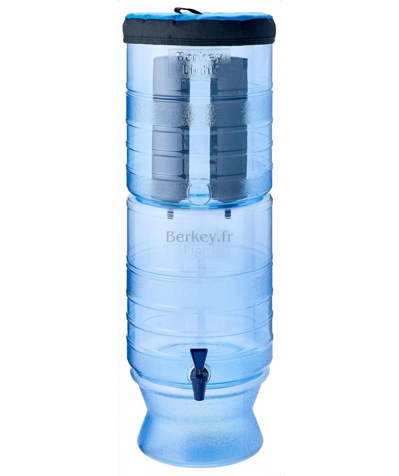 BERKEY LIGHT : Purificateur d'eau par gravité - Modèle de 10,4 litres (Réf. : BL4X2-BB).